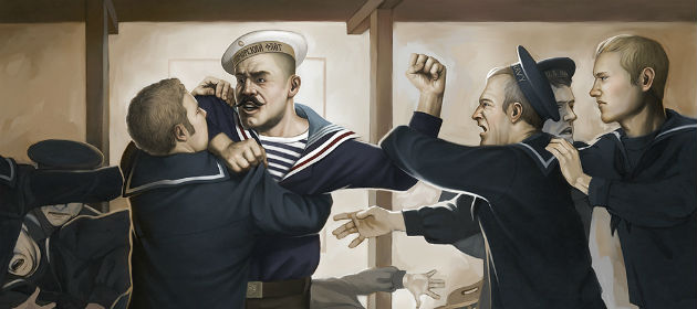 Sailors Bar Fight