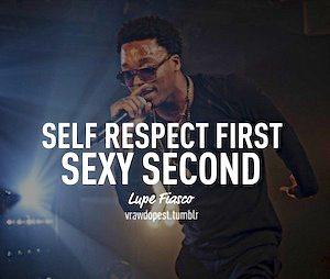 Lupe Fiasco Self Respect