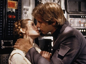 Han Solo Princess Leia