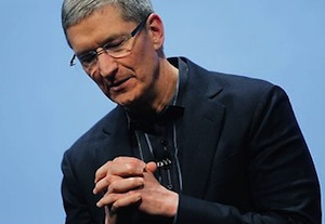 Tim Cook Apologizes