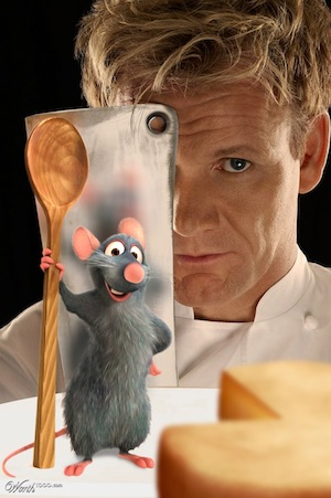 Gordon Ramsay Ratatouille