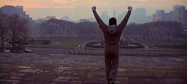 Rocky Balboa Steps