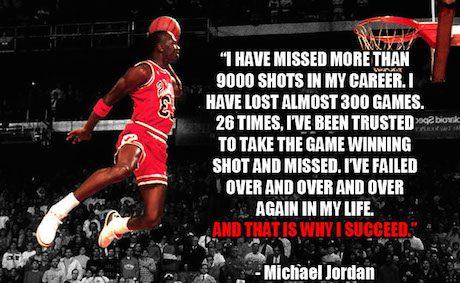 Michael Jordan on Failure