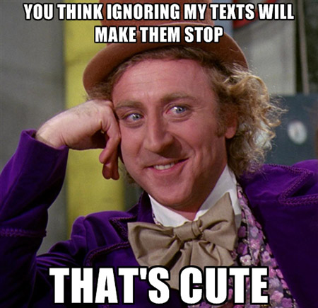 You Can't Ignore the Wonka!