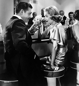 Clark Gable Flirting