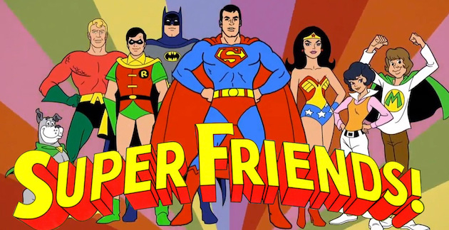 Super Friends Social Circle