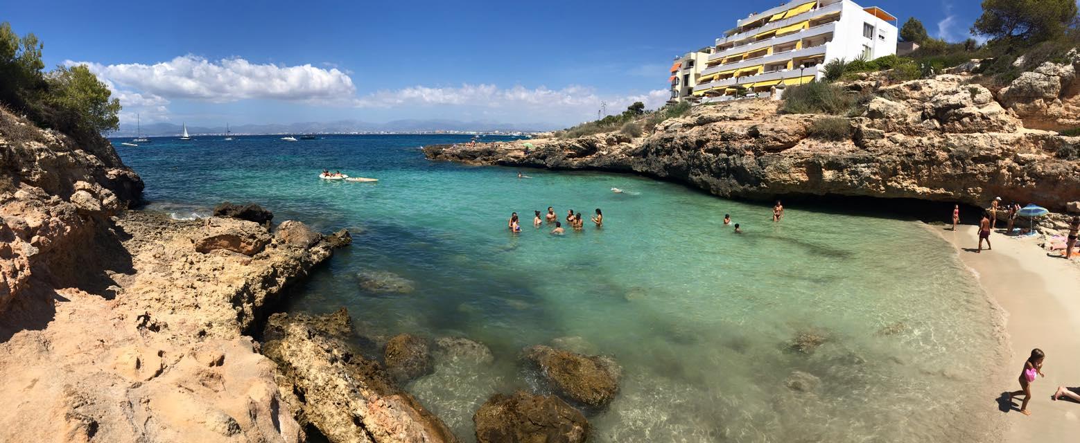 Panoramic Majorca Beach