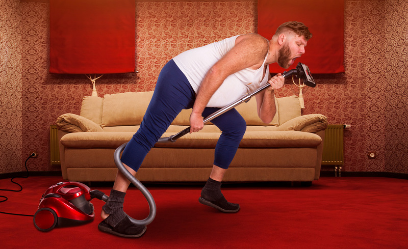 Singing and dancing with vacuums
