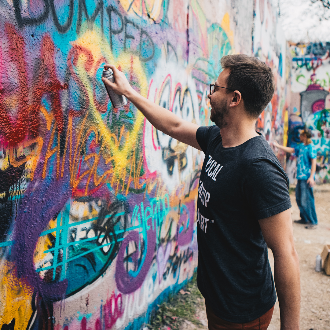 Spray_Painting_Conquer_Confidence_Austin