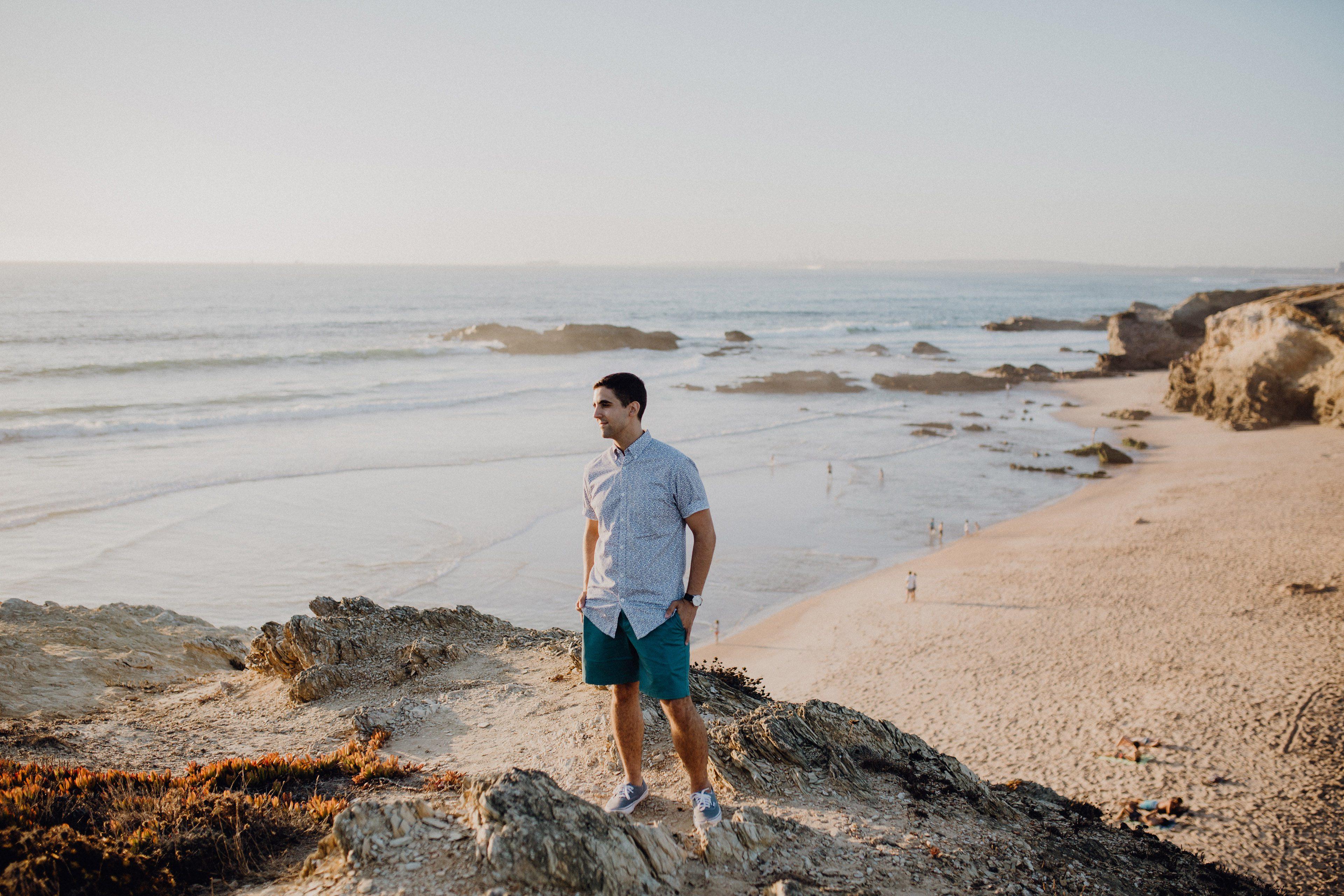 Nick Notas Conquer Confidence Lisbon Beach