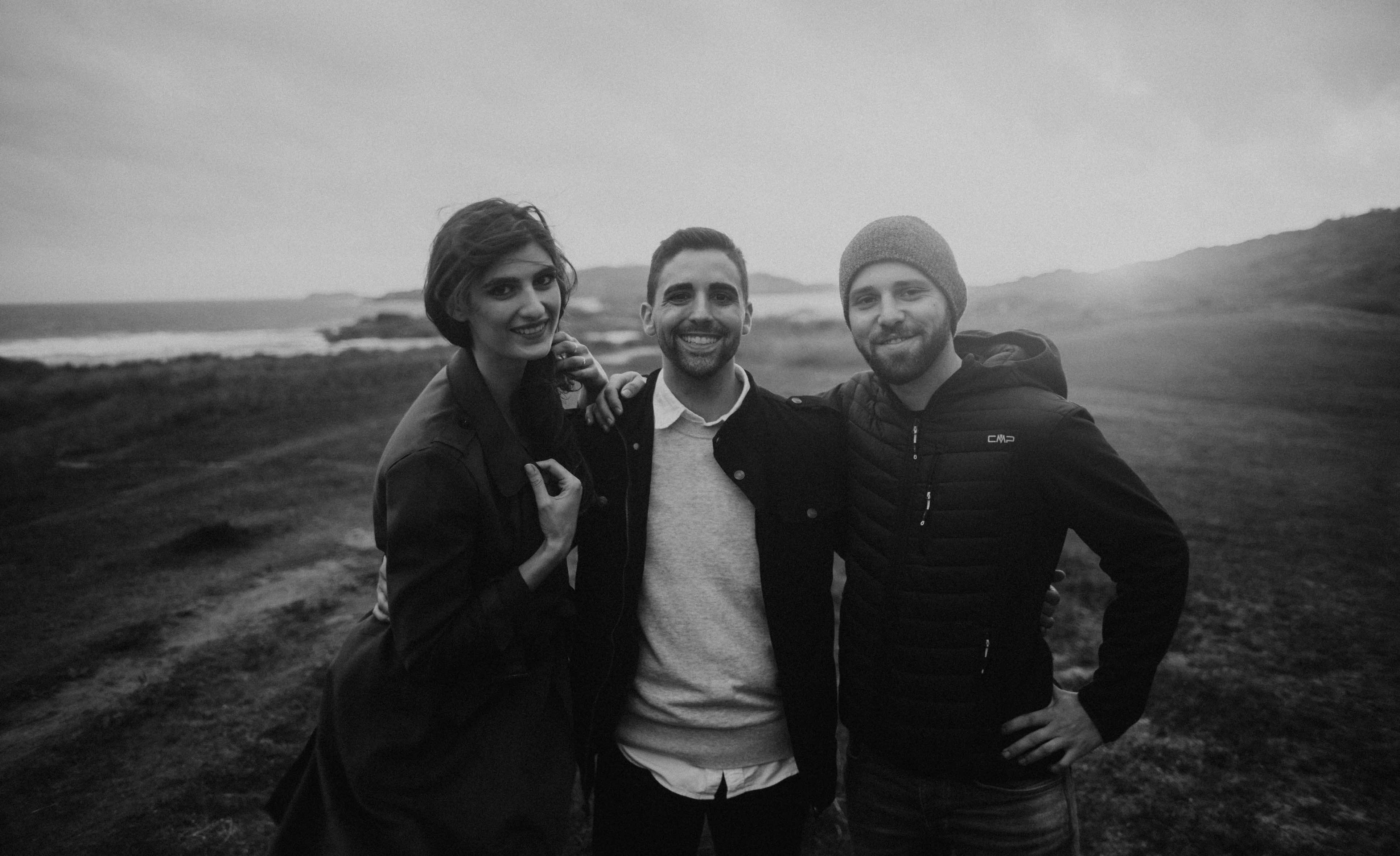 Nick Krissi Julian Ireland Beach